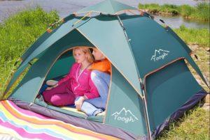 2-3 Personen Familien Camping Zelte - Toogh Vier Jahreszeiten Rucksack Zelte - platz 5