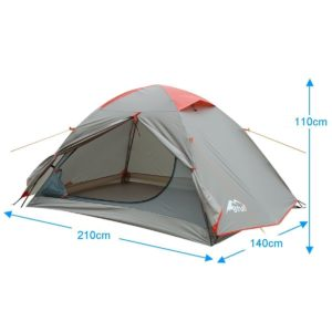 Bfull Outdoor leichtes camping zelt für1-3 Personen Wasserdicht - platz 5