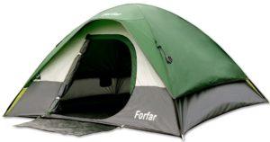 Campingzelt Forfar Outdoor Zelt Familiezelt Kuppelzelt - platz 5
