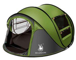 Ghlee 2 3 4 Person Sekunden Pop Up Schnelle Eröffnung Camping - platz 3
