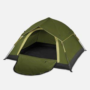Lumaland Outdoor leichtes Pop Up Wurfzelt 3 Personen Zelt Camping Festival - PLATZ 1
