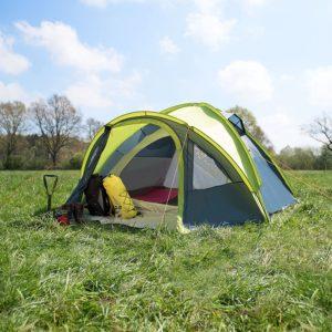 Wanderlust 4 Personen Zelt Kuppelzelt Familienzelt Outdoor - PLATZ 4
